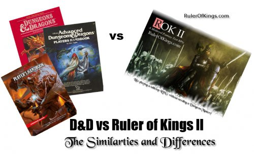 Ruler Of Kings II vs Dungeons & Dragons