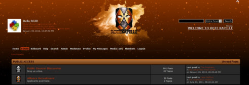 SMF Eve Online Theme